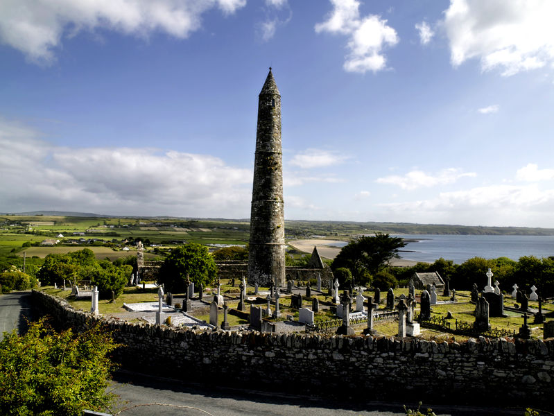 Ardmore Round Tower In Waterford